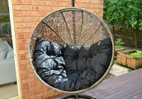 Wicker Chair Cushion Round Back