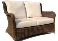 Wicker Loveseat Cushions Outdoor