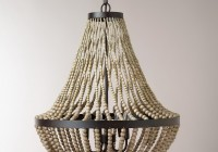 Wood Bead Chandelier Diy