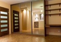 Wood Closet Doors With Mirrors