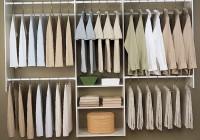 wood closet organizer kits