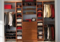 Wood Closet Organizers For Reach In Closet