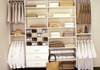 Wood Closet Systems With Drawers