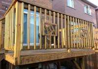 Wood Deck Railing Design Ideas