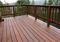 Wood Deck Railing Images