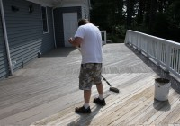 Wood Deck Sealer And Filler