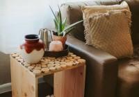 Wood Side Table Diy