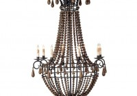 Wooden Bead Chandelier Lighting