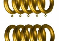 Wooden Curtain Rings For 2 Inch Rod