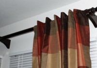 Wooden Curtain Rod Ends