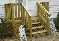 Wooden Deck Steps Plans