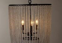 World Market Wood Bead Chandelier