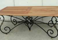 Wrought Iron Bench Legs