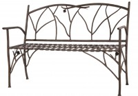 Wrought Iron Benches Outdoor
