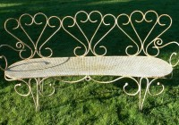 Wrought Iron Benches Uk