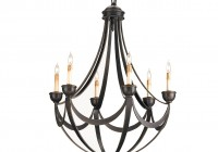 wrought iron chandeliers mexican