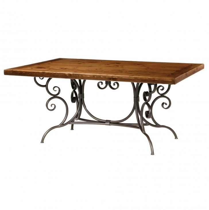 Permalink to Wrought Iron Console Table Base Only