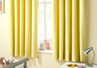 Yellow Blackout Curtains Nursery