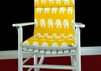 Yellow Rocking Chair Cushions