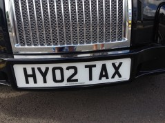 Hydrogen powered taxi