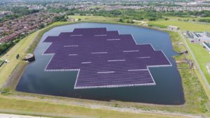 Big in Japan: United Utilities 3MW floating solar power plant is one of the world's largest, for now...