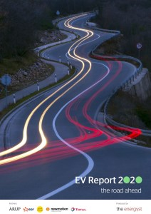 The EV Report front cover