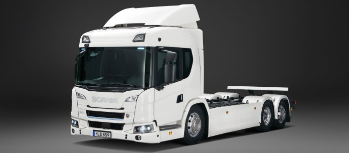 Scania's new electric truck