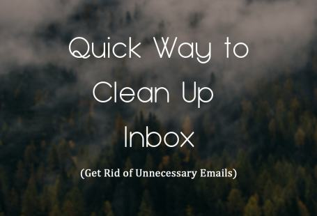 clean your emails