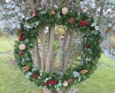 1.2m / 4ft single sided wreath