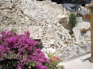 Nehemiah's Wall in Jerusalem