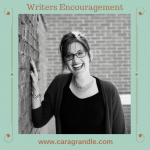 Cara also gives a weekly Writers Encouragement show on Periscope. Visit her site for more info.