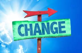 dont be scared of change