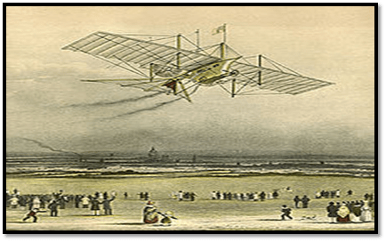 It is an Aerial steam carriage uav which was developed in the intial years of UAV developement.