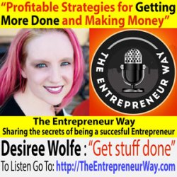 056: Profitable Strategies for Getting More Done and Making Money with Desiree Wolfe