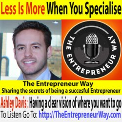 125: Less Is More When You Specialise with Ashley Davis Founder and Owner of Skyline Social