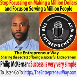 256: Stop Focussing on Making a Million Dollars and Focus on Serving a Million People with RJ Hodges Founder and Owner of RJ Hodges Speaks LLC