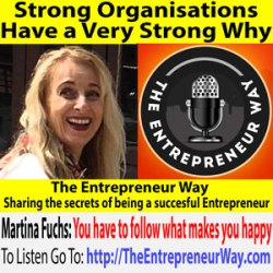 333: Strong Organisations Have a Very Strong Why with Martina Fuchs Founder and CEO of Real Medicine Foundation (RMF)