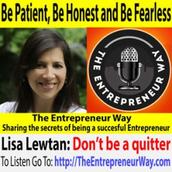465: Be Patient, Be Honest and Be Fearless with Lisa Lewtan Founder and Owner of Healthy, Happy, and Hip