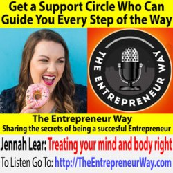 569: Get a Support Circle Who Can Guide You Every Step of the Way with Jennah Lear Founder and Owner of Blue Loui Studio
