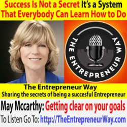 578: Success Is Not a Secret, It's a System, That Everybody Can Learn How to Do with May Mccarthy Founder and Owner of Bizzultz