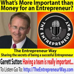 592: What's More Important than Money for an Entrepreneur? With Garrett Sutton Founder and Owner of Corporate Direct