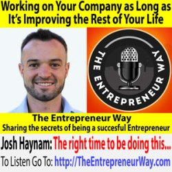 641: Working on Your Company as Long as It's Improving the Rest of Your Life with Josh Haynam Founder and Co-owner of Interact Quiz Builder