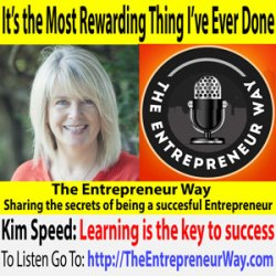 631: It Is the Most Rewarding Thing I Have Ever Done with Kim Speed Founder and Owner of Purple Moon Creative
