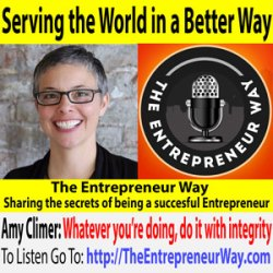 687: Serving the World in a Better Way with Dr Amy Climer Founder and Owner of Climer Consulting