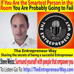 678: If You Are the Smartest Person in the Room You Are Probably Going to Fail with Steve Weiss Founder and Owner of MuteSix Inc