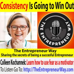 734: Consistency Is Going to Win Out with Colleen Kochannek Founder and Owner of Scrappy Frontier Media, LLC