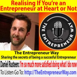 732: Realising If You're an Entrepreneur at Heart or Not with Daniel Rusteen Founder and Owner of Optimize My Airbnb