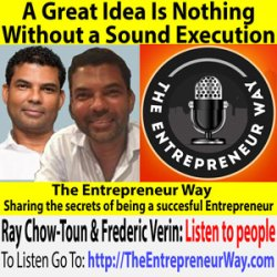 748: A Great Idea Is Nothing Without a Sound Execution with Ray Chow-Toun and Frederic Verin Co-Founders and Co-Owners of CV Proof