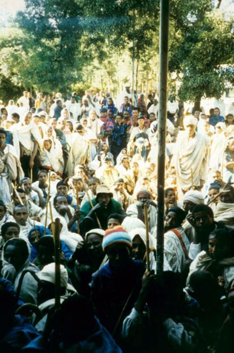 ETHIOPIA CROWDS