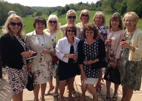 Collingham Ladies at the Lee's Smile Ladies Luncheon at Wetherby Golf Club. (S)
